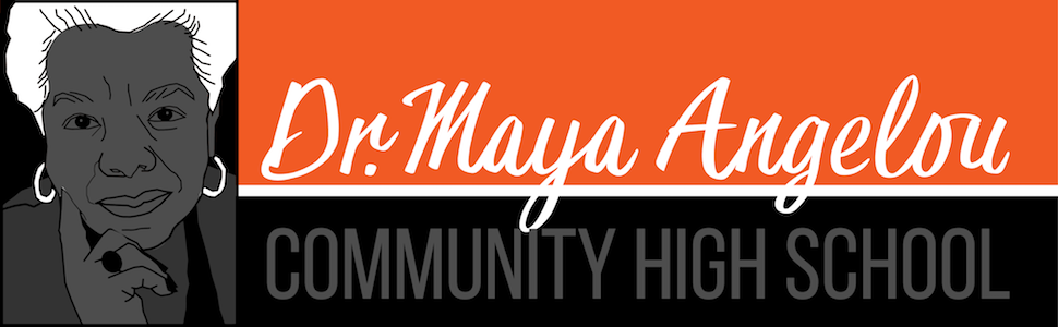Dr. Maya Angelou Community High School  Logo