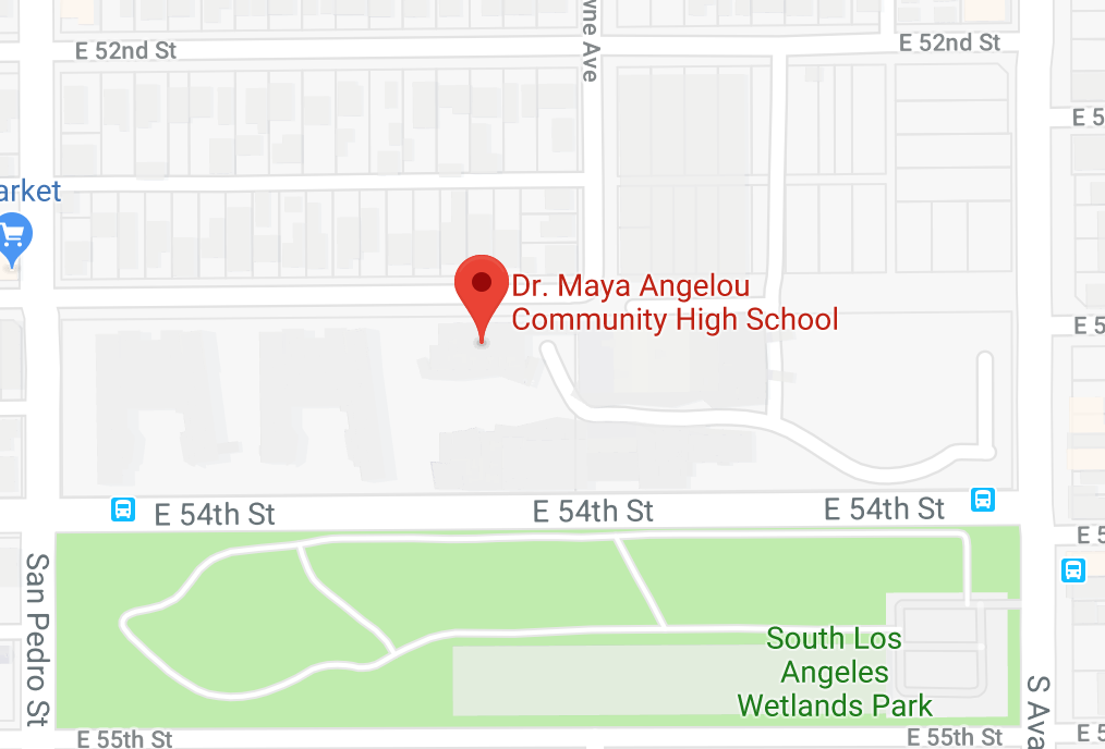map to our school